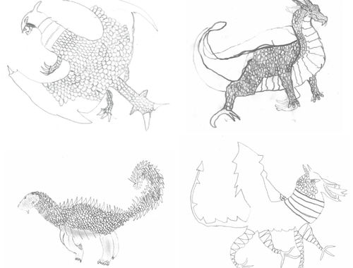 Deadly Dragons Designed and Drawn 2