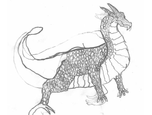 Deadly Dragons Designed and Drawn 5