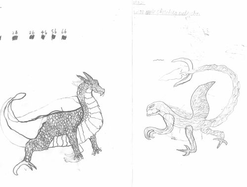 Deadly Dragons Designed and Drawn 10