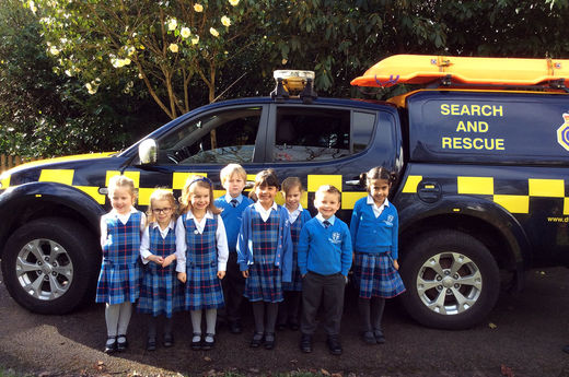 Coastguard visit Early Years