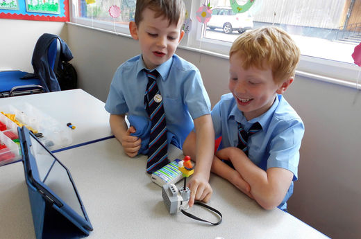 Enhancing Computing Skills with LEGO Programming