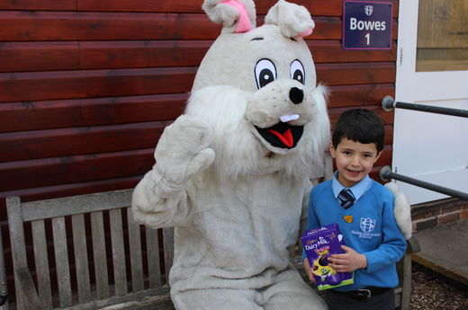 The Easter Bunny Visits Sherborne House