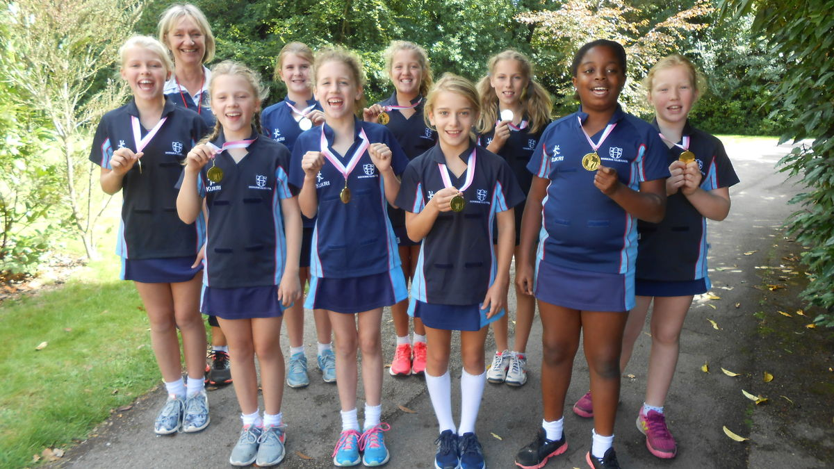 U11 Netball Wessex League Winners 120918