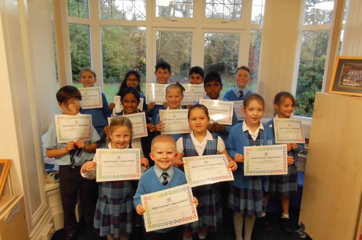 Head Teacher Award 29/11/2019