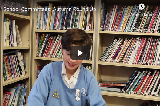 School Committees: Autumn Round Up