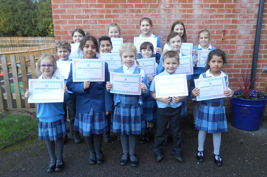 Head Teacher Award 13th December 2019