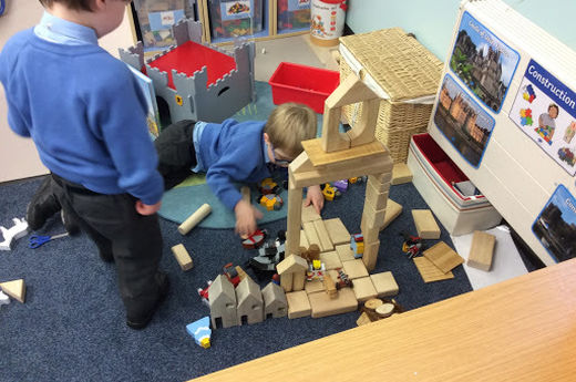 Discovering and Exploring Castles in Reception