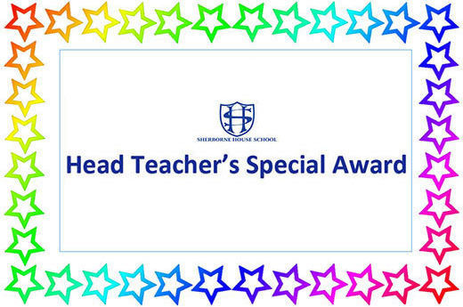 Head Teacher Award 17th January 2020