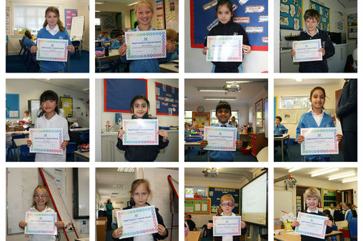 Head Teacher Award 18th September 2020