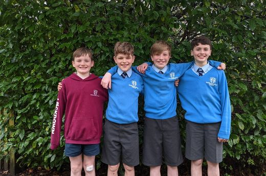 Sherborne House Boys selected for Prep Schools' Lions Representative Football Squads
