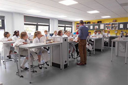 Chemists at the Gregg School