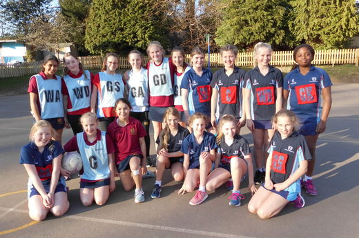 Sherborne Compete Against Old Boys and Girls