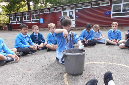 A Busy Gardening Day in Year 2