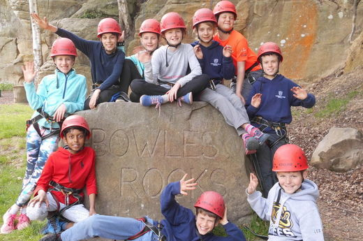 Year 6 think that Bowles Rocks!
