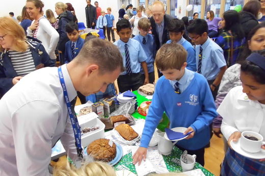 Year 6 Host Their Macmillan Cancer Support Coffee Morning