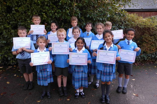 Head Teacher Award 18th October