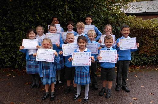 Head Teacher Award 25th October
