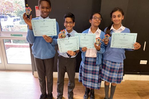 Primary Maths Challenge Winners