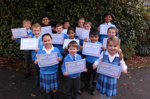 Head Teacher Award 8th November 2019