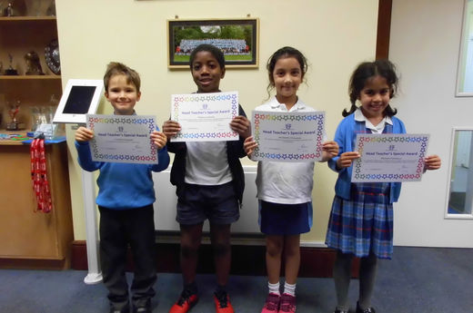Head Teacher Award 15th November 2019